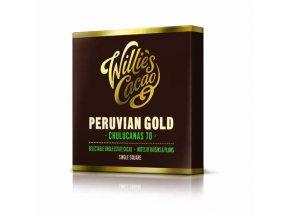 Čokoláda Willie's Peruvian Gold Chulucanas hořká 70%, 50g