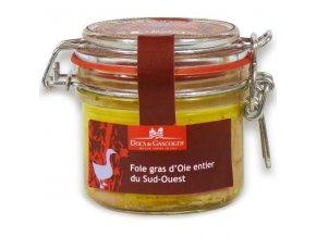 Husí Foie gras z Jihozápadu Francie, v celku (sklo), 180g