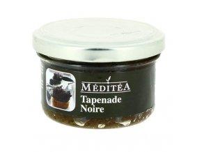 Tapenada z černých oliv s bazalkou, sklo 90g