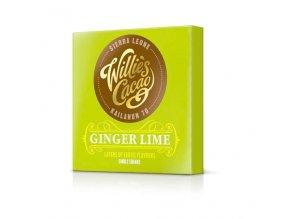 Čokoláda Willie's Sierra Leone hořká se zázvorem a limetkou 70%, 50g