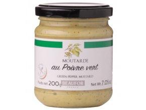 Franc. hořčice se ZELENÝM PEPŘEM (Moutarde au poivre vert), 200g