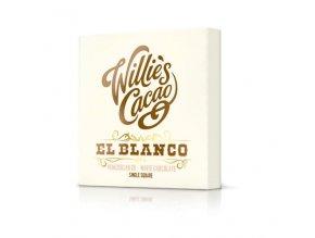 Čokoláda Willie's bílá EL BLANCO Venezuela, 50g
