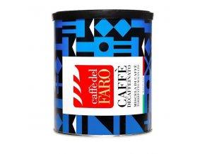 Mletá káva CAFFE DEL FARO - DECAFFEINATO, plech, 250g