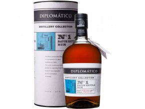 Diplomatico Distillery Collection No. 1 Batch Kettle Rum, 47%, 0,7l