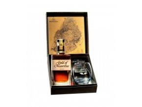 268Gold of Mauritius + sklenička, Gift Box, 0,7l