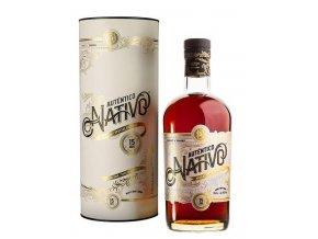 Auténtico Nativo 15 YO, Gift Box, 0,7l