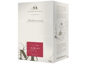 Marrenon Merlot IGP, bag in Box, 10l