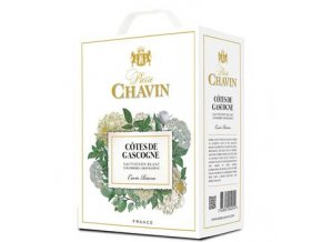 Cotes de Gascogne blanc, bag in box, Pierre Chavin, 3l