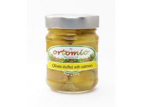 Olivy plněné lososem, 212ml