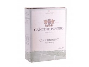 Povero Bag in Box Chardonnay, 3l