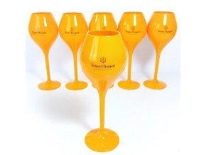 Veuve Clicquot Ponsardin NEW TRENDY PLASTIC GLASS, 1ks