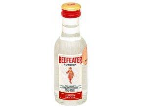 Beefeater gin, miniatura, 0,05l