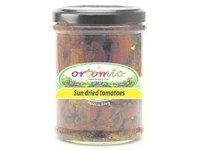 Sun-dried rajčata marinovaná s bylinkami, 212ml