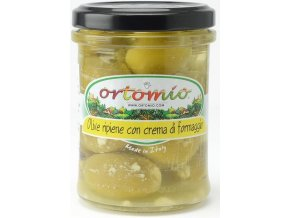 Olivy plněné Parmigiano krémem , 212ml