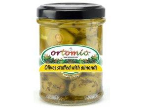 Olivy plněné mandlemi, 212ml
