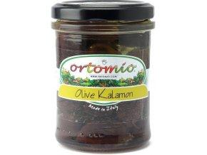 Kalamata olivy s peckou v oleji, 212 ml