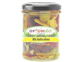 """Marinované olivy """"Mix Italia"""", 212 ml"""