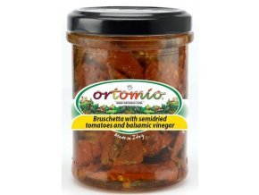 Směs na Bruschettu ze sušených rajčat a balzamika, 212ml