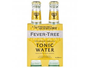 Fever Tree Indian Tonic Water, 4x 200ml (4 pack)