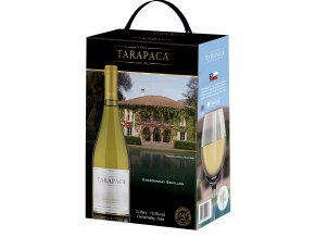 Tarapacá, Chardonnay Semillon, bag in box, 3l