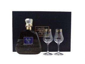 Zacapa Centenario 30 YO Aniversario + 2 sklenice Riedel, Gift Box, 40%, 0,7l
