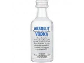 Absolut vodka, miniatura, 0,05l
