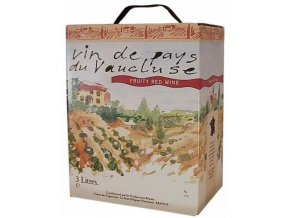 Marrenon červené Fruity, bag in Box, 3l