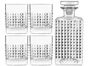Elixir whisky set, Luigi Bormioli,