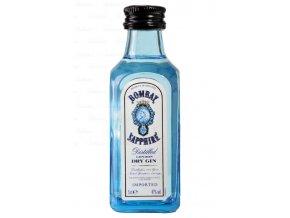 Bombay Sapphire Gin, miniatura, 47%, 0,05l