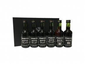 Portské víno KOPKE MINI SPECIAL COLLECTION, 6x0,05l