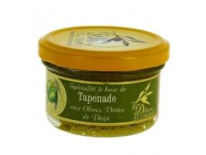 Tapenada ze zelených oliv dle receptury z Provance, sklo 90g