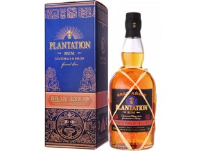 Plantation Guatemala & Bélize Grand Anejo, Gift box, 42%, 0,7l