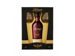 Ron Zacapa Centenario, 23 YO, Gift box papír, 40%, 0,7l