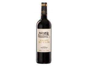 Cahors Malbec du Clos, 2015, 0,75l