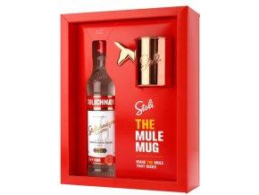 Stolichnaya vodka Mule Mug