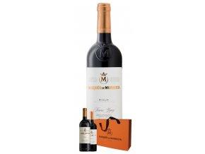 Rioja Reserva 2012 v dárkovém setu, Maques de Murrieta, 2x0,75l