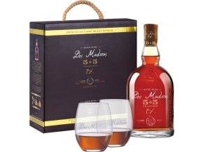 Dos Maderas P.X. 5+5 10 YO + 2 skleničky, Gift Box, 40%, 0,7l
