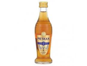 Metaxa 7, miniatura, 40%, 0,05l