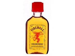 Fireball Cinnamone Whiskey Liquer, miniatura, 33%, 0,05l