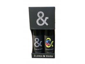 Dárkový obal na 2 lahve Zlomek & Vávra