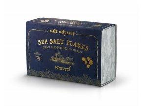 Mořská sůl ve vločkách, NATURAL, 75g