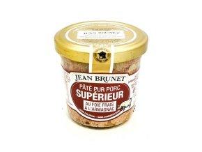 Jean Brunet Paštika z vepřových jater s Armagnakem, 90g