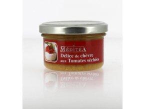 Meditea Pochoutka s kozím sýrem a sušenými rajčaty, sklo 90g