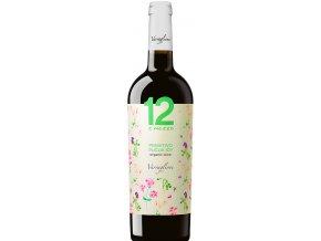 Primitivo Puglia Organic 2015 Varvaglione, 0,75l