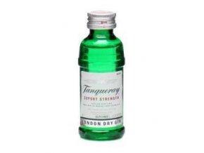 Tanqueray Gin, miniatura, 43,1%, 0,05l