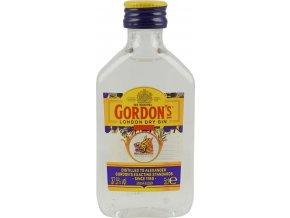 Gordon´s Gin, miniatura, 37,5%, 0,05l