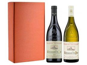 Sada 2 vín - Châteauneuf du Pape - Domaine du Vieux Lazaret, 2x0,75l