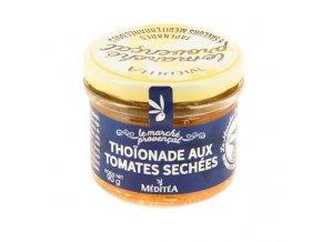 """Meditea Franc.specialita z tuňáka """"Thoinade se sušenými rajčaty, sklo 90g"""