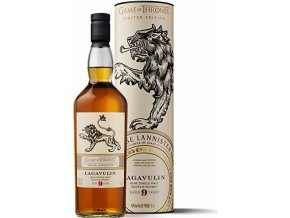 Lagavulin 9 YO Game of Thrones House Lannister, 46%, 0,7l