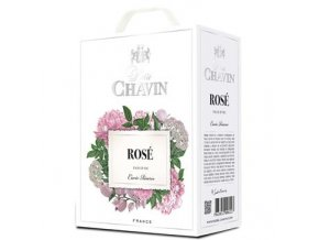 Rosé, bag in box, Pierre Chavin, 3l